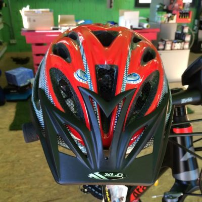 XLC Casco Kenia Grey/Red