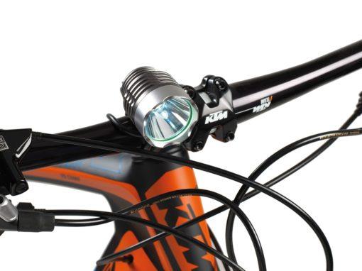 BARBIERI Luce a Led per Bici e Casco