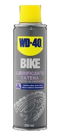 wd40 lubrificante catena per tutte le condizioni