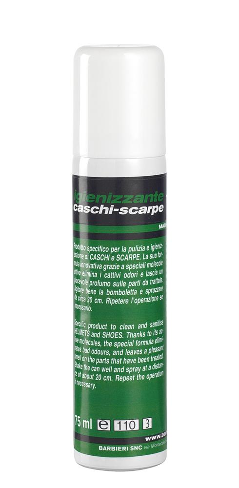 BARBIERI Spray Igienizzante Caschi e scarpe 200ml